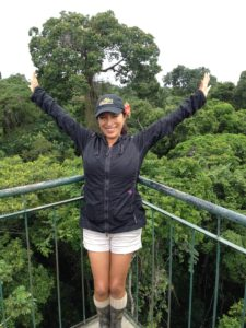Canopy Tower 100 feet tall -Puerto Maldonado Peru
